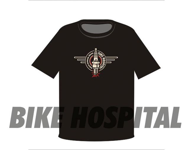 BOUGIE T-SHIRT BLACK XL