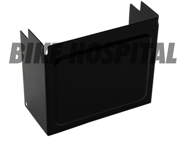 COVER BATTERY BLACK XL/FXD AGM ONLY