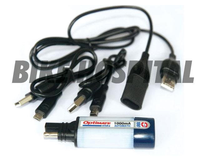 OPTIMATE CHARGER USB UNIV MINI