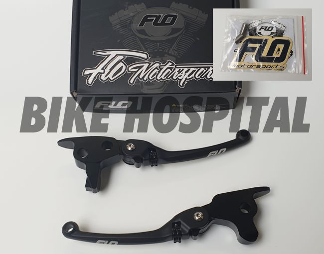 Flo motorsports lever set Touring '17-UP