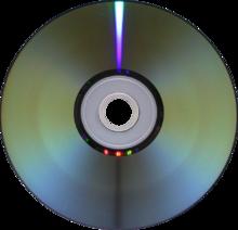 De digitalisaties worden op een DVD gezet.