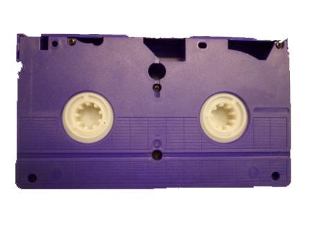 Videoband scannen en op DVD zetten.