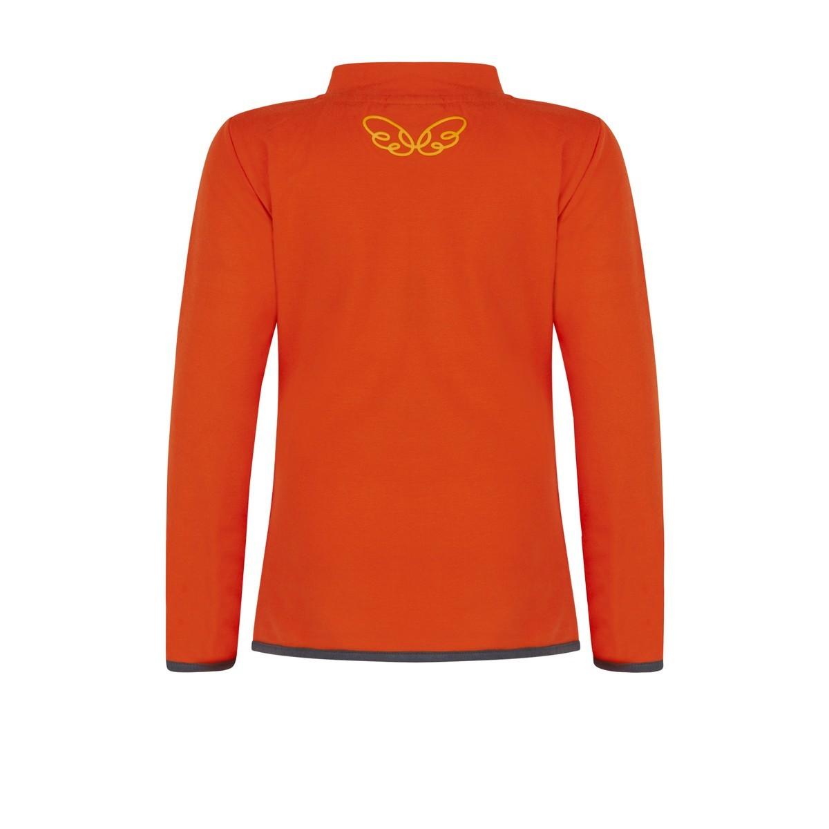 Ninni Vi longsleeve orange (NVFW18-09)