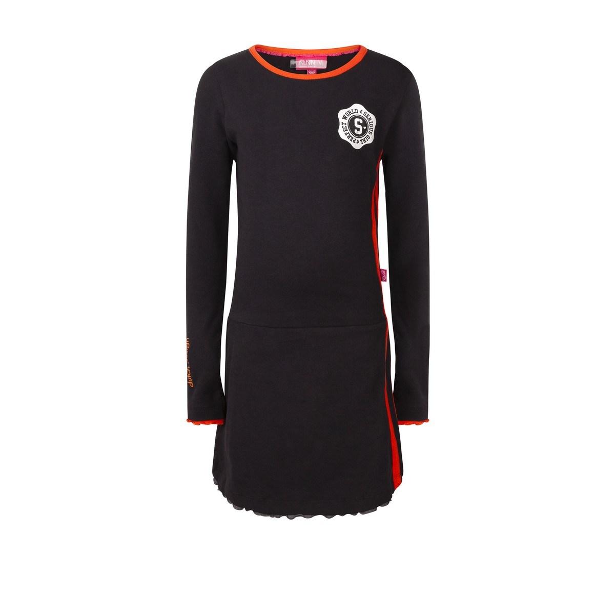 Ninni Vi jurk black (NVFW18-13)