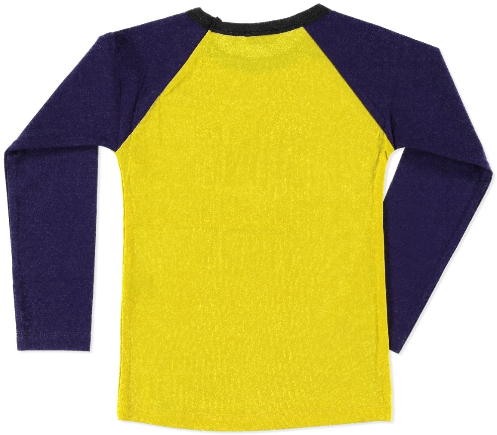 Billy & Lilly longsleeve Linde yellow-purple