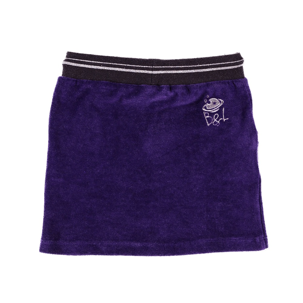Billy & Lilly rok Pippa purple velours
