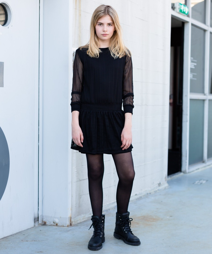 Levv jurk Delene black