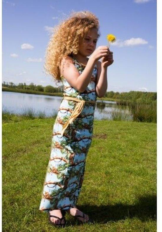 LoveStation22 maxi-jurk Jill multicolor & kaki