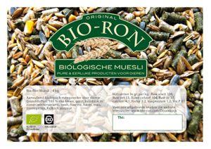 Nieuw Probeerverpakking Bio-Ron Muesli