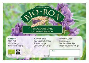 Probeerverpakking Bio-Ron Luzerne brok