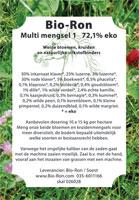 Multi Mengsel I / Wolff mengsel 89,3 % eko