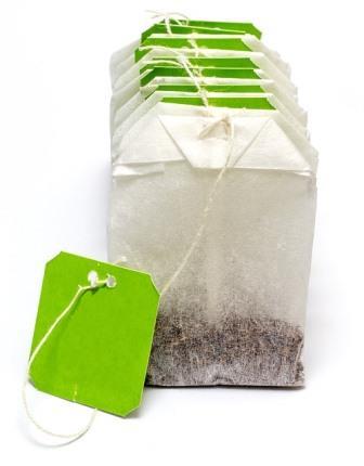 Theezakjes groene thee