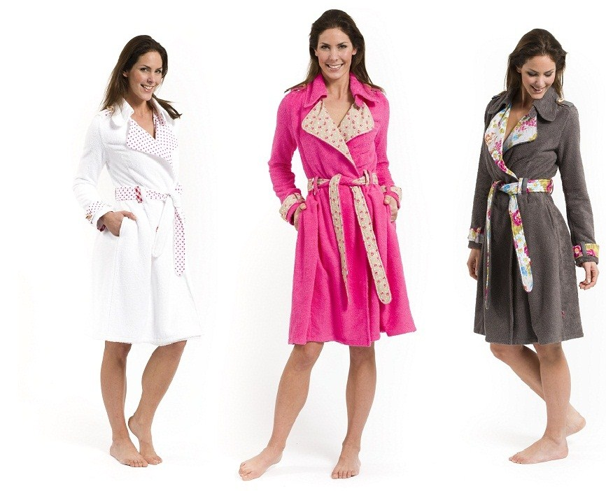 Combo foto 3 kleuren badjassen