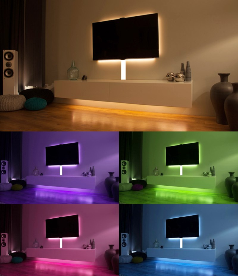 Ledstrip Woonkamer. Great Awesome Led Verlichting Woonkamer Pictures ...