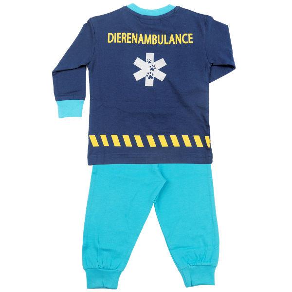 Pyjama in Dieren ambulance kleur