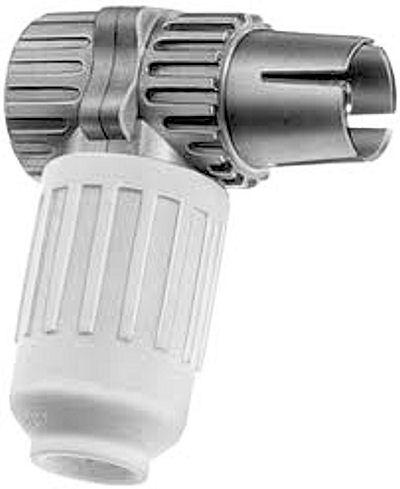 IEC-connector female haaks (Kabel Keur)