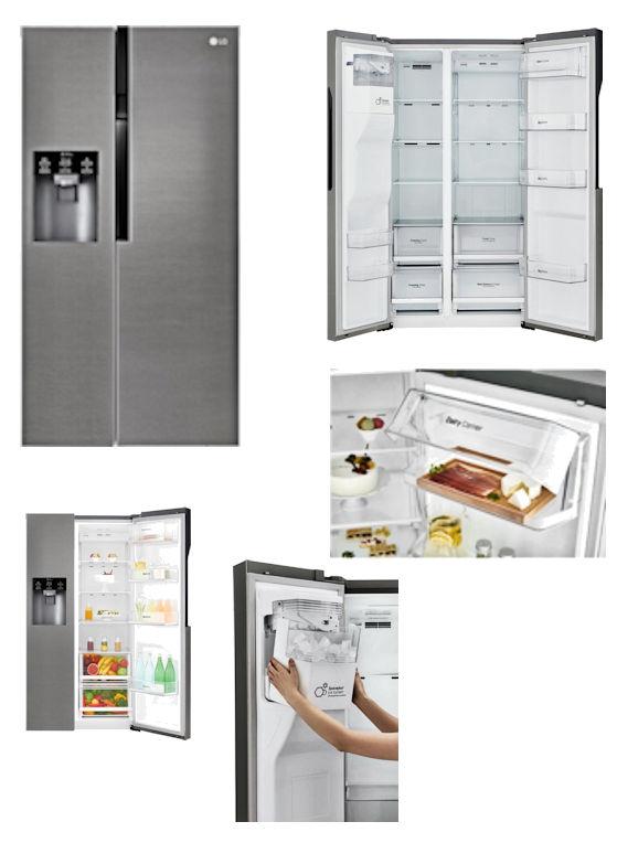 Amerikaanse koelkast A+