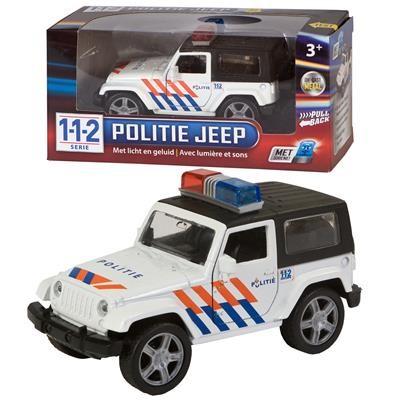 Politie terreinauto 4 x4 met geluid en licht