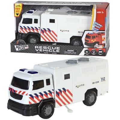 Politie Friction Truck met geluid-licht