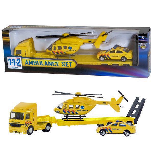 112 ambulance heli set