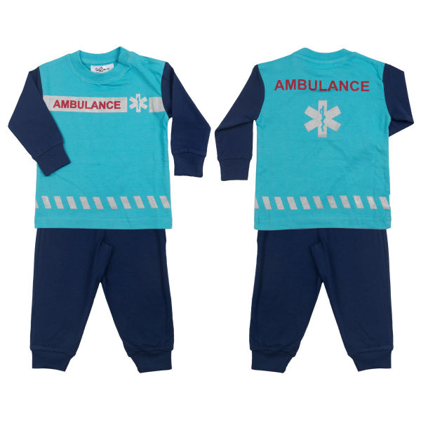Pyjama in Ambulance kleur