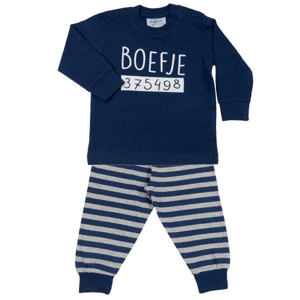 Kinder pyjama Boefje<br /><br /> Twilight Blue