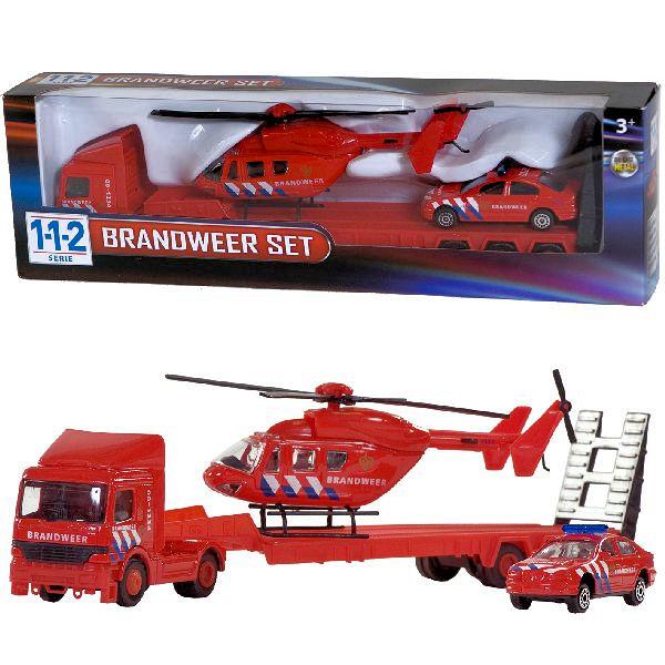 112 brandweer heli set