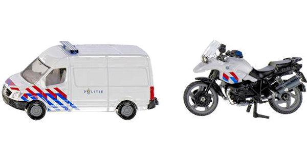 Politie bus en motor