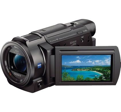 Sony FDR-AX33 4K videocamera Zwart