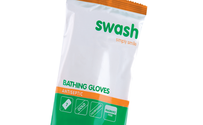 <B>Swash Gold Gloves Antiseptic<B>