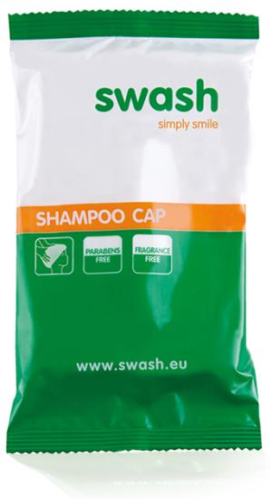 Swash shampoo cap