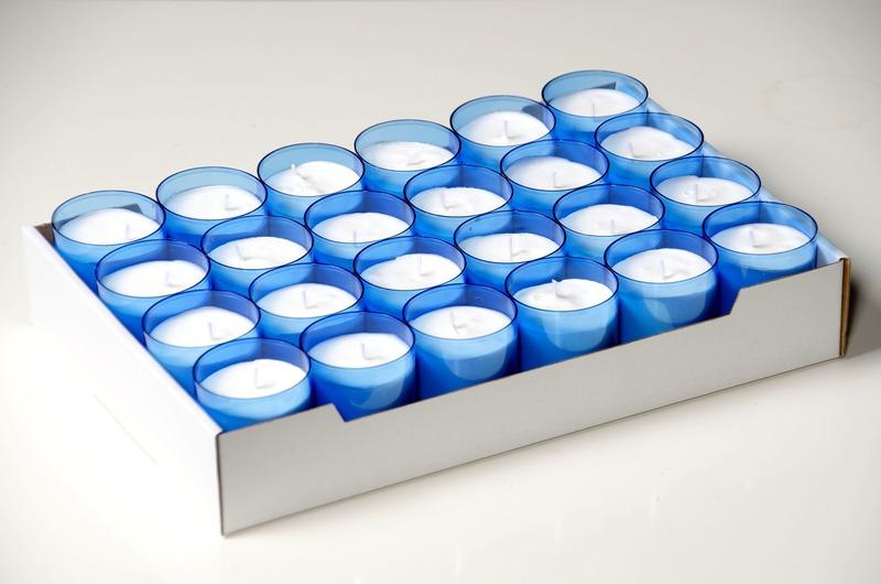 C4U lights blauw<br />doos 96 stuks