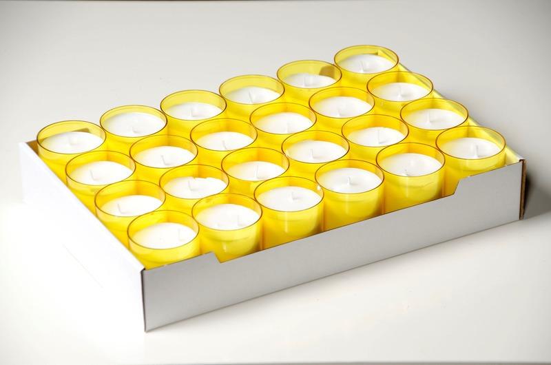 C4U lights geel<br />doos 96 stuks