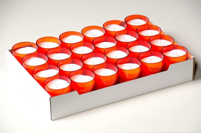 C4U lights oranje<br />doos 96 stuks