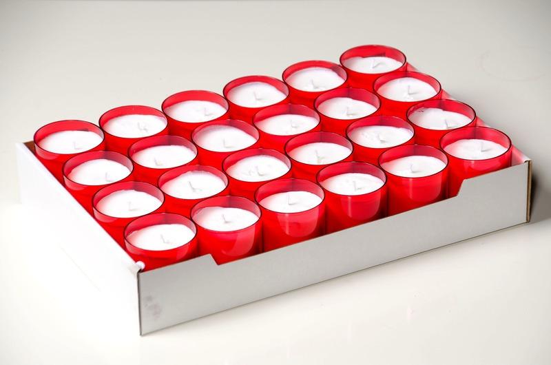 C4U lights rood<br />doos 96 stuks