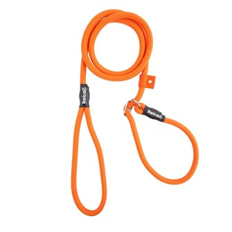 REBEL PETZ TRAINING LEASH ORANGE SMALL