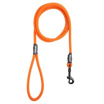 REBEL PETZ BASIC LEASH ORANGE LARGE