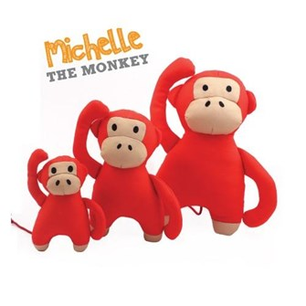 BECO TOY MICHELLE MONKEY SMALL