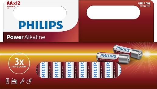Philips Powerlife LR6 batterij (AA) 1.5V 12 ST
