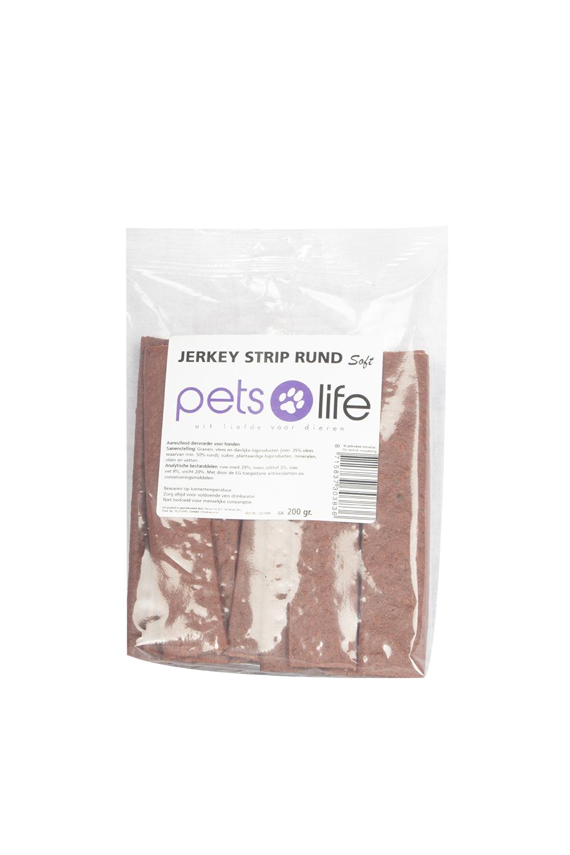 PETS LIFE JERKEY STRIPS RUND CA. 215 GR.