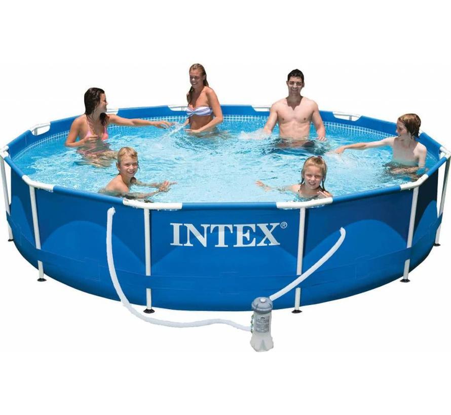 Intex 28212GN Frame pool 366x76cm (incl pomp) (UITVERKOCHT 2020)