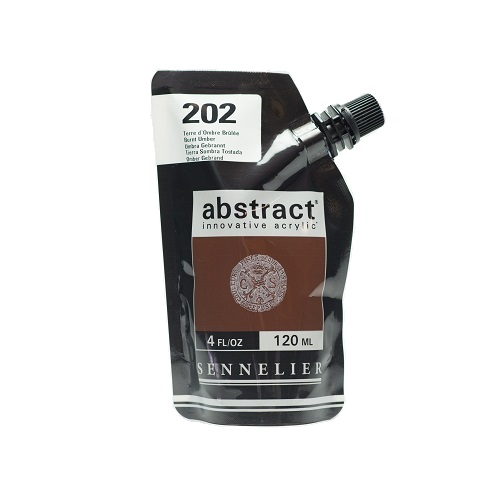 Sennelier Abstract Acrylverf Burnt Umber 120 ml