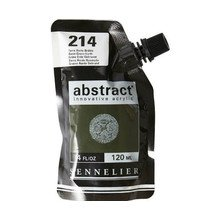 Sennelier Abstract Acrylverf Burnt Green Earth 120 ml