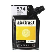 Sennelier Abstract Acrylverf Primary Yellow 120 ml