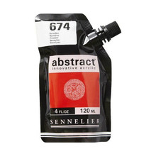 Sennelier Abstract Acrylverf Vermilion 120 ml