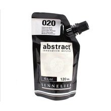 Sennelier Abstract Acrylverf Irdescent Silver 120 ml