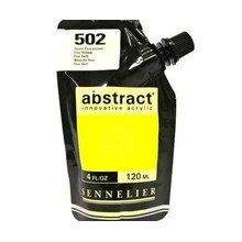 Sennelier Abstract Acrylverf Fluo Yellow 120 ml