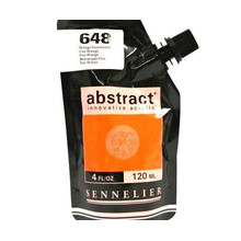 Sennelier Abstract Acrylverf Fluo Orange 120 ml