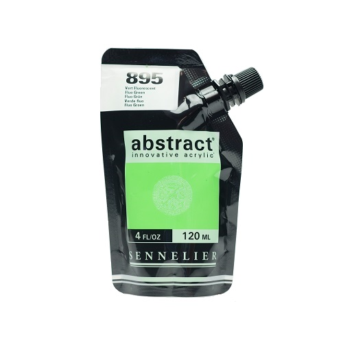 Sennelier Abstract Acrylverf Fluo Green 120 ml