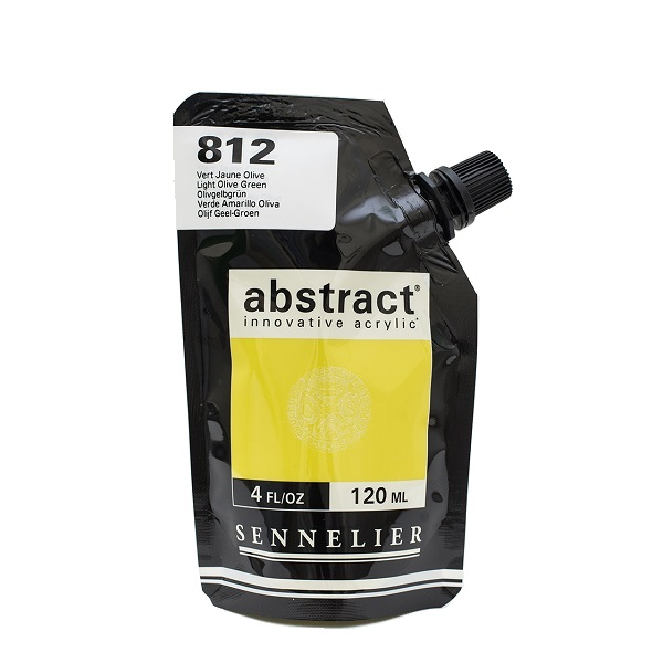 Sennelier Abstract Acrylverf Light Olive Green 120 ml